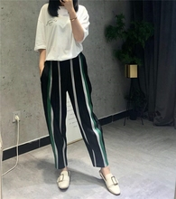 MIYAKE Fold New Fashion Womens Coloured Hallen Trousers pleats pant Wholesale free shipping