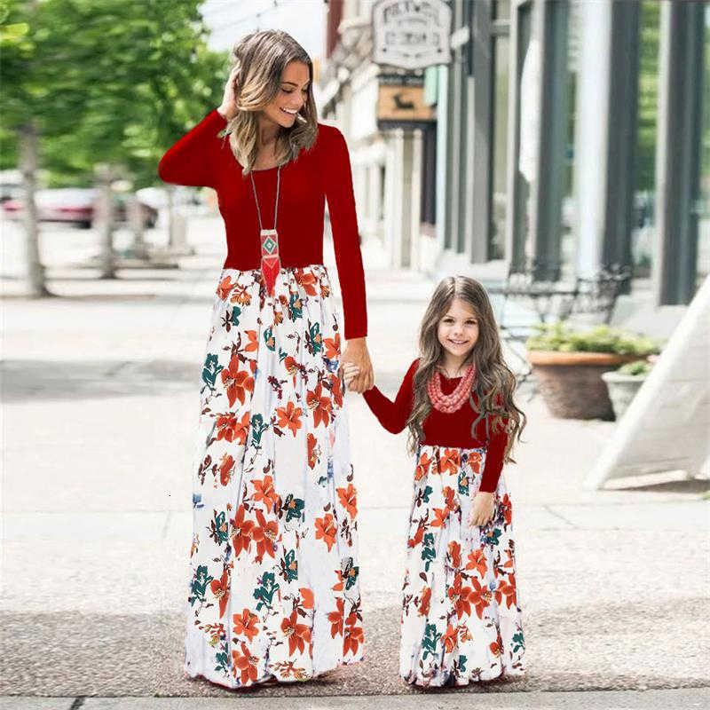 Pour tous les jours LZH Robe /à manches longues pour fille de 2 /à 7 ans Automne Style d/écontract/é