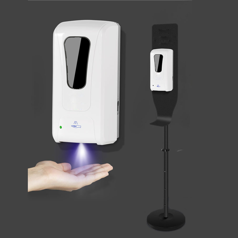 Hand Disinfection Machine Stand-Up Spray Disinfection Machine Bathroom Hospital Alcohol Mist Hand Cleaner Spray Touchless Disinf