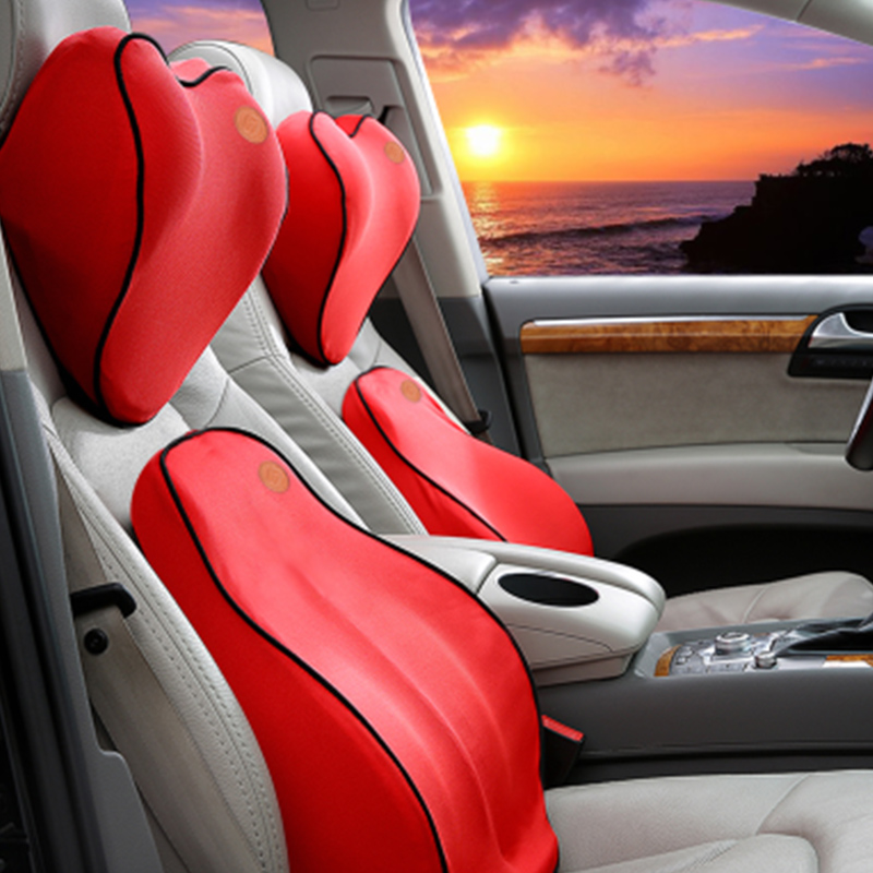 Lumbar Cushion Back Pillow For Car Seat And Office Chair To Relieve Low Back Pain 2