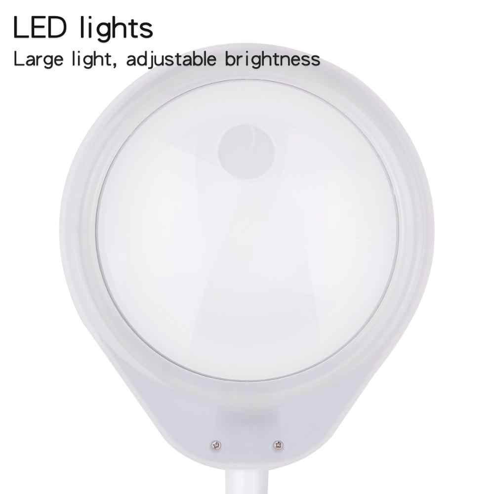 10X 20X в 1 настольная увеличительное стекло со светодиодными лампами лампа на основании электронной подсветки лупа для чтения телефона Ремонт лупа