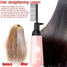 150ml Smoothing Shiny Cold Hair Straightener Cream Straight Natural Straightening Hair Cream Hair Relaxer For Woman