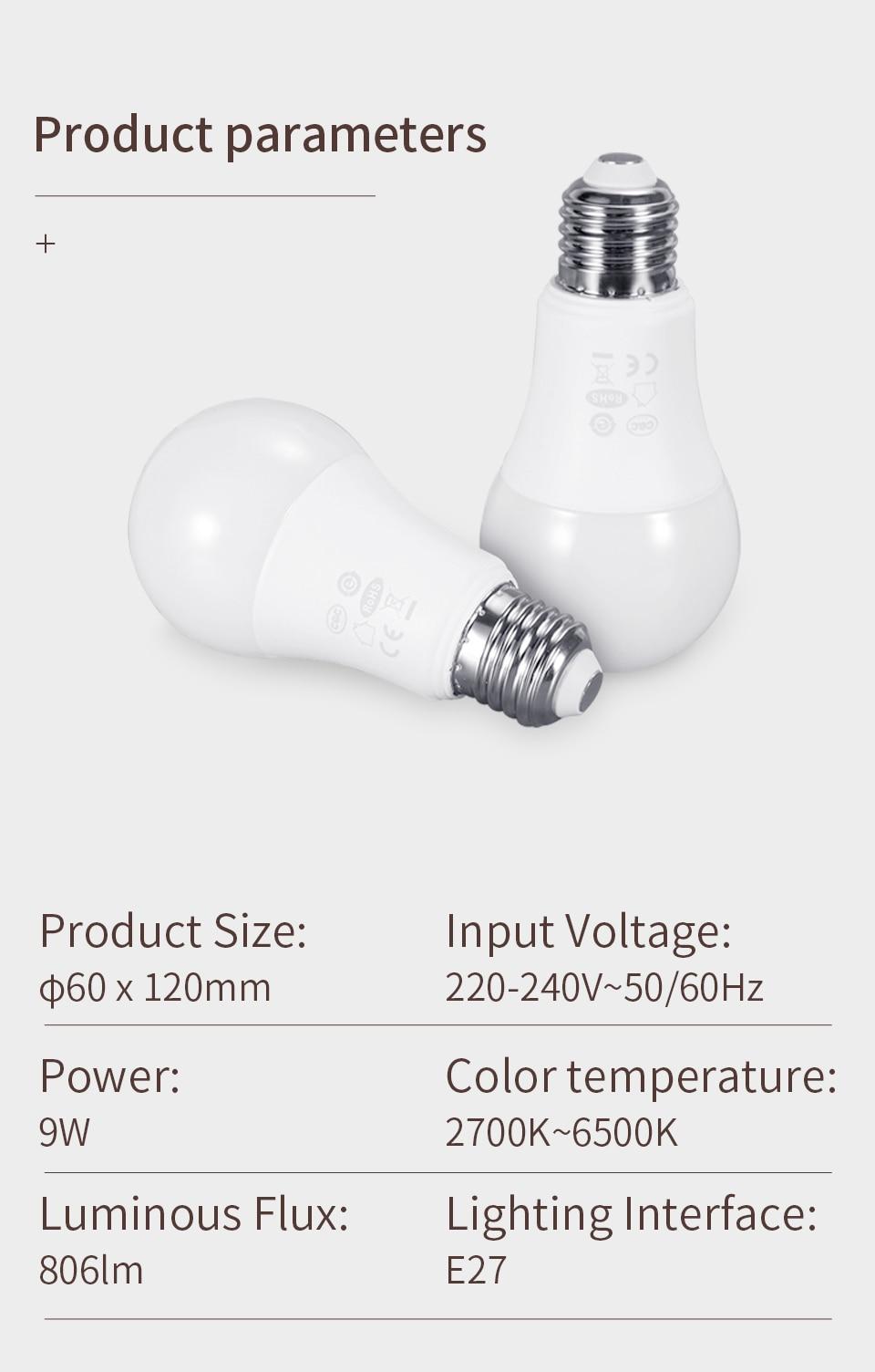 Aqara Smart bulb 8