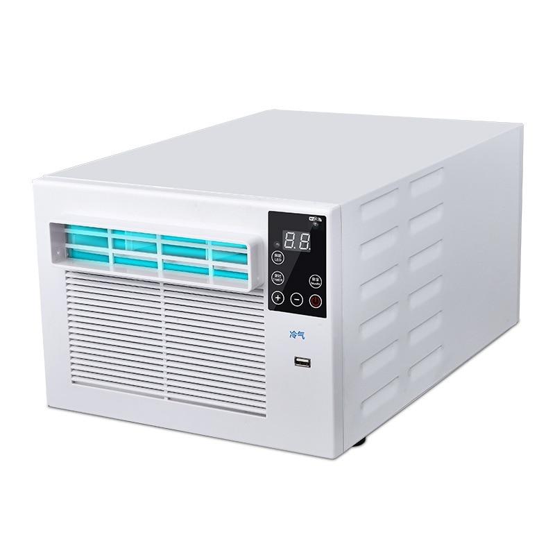 900W Draagbare Desktop Koeling Airco Ventilator Led Bedieningspaneel Airconditioner Bed Kleine Luchtkoeler Voor Kamer 1