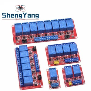 Relay module 1 2 4 6 8 Channel 5V 12V Relay Module Board Shield with Optocoupler Support High and Low Level Trigger for Arduino(China)