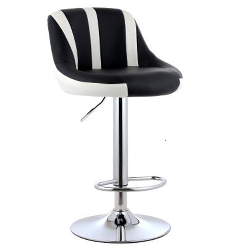 Bar Chair European Bar Counter Chair Can Lift High Footstool Bar Chair Anji