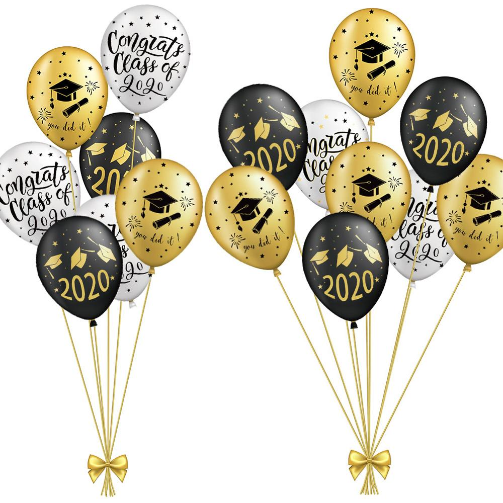 Graduation Balloons 2020 Graduation Party Decorations Congrats Grad Banner Graduation Backdrop Class Of 2020 Photo Booth Props