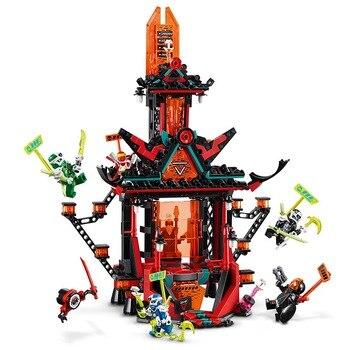 IN STOCK Ninjaed Movie Empire Temple Of Madness 486PCS Building Block 2020 New Assemble Block Figreus Children Toys