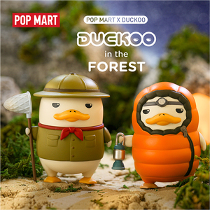 Image 5 - POP MART Duckoo Duck figure in the forest Blind Box Doll Binary Action Figure Birthday Gift Kid Toy