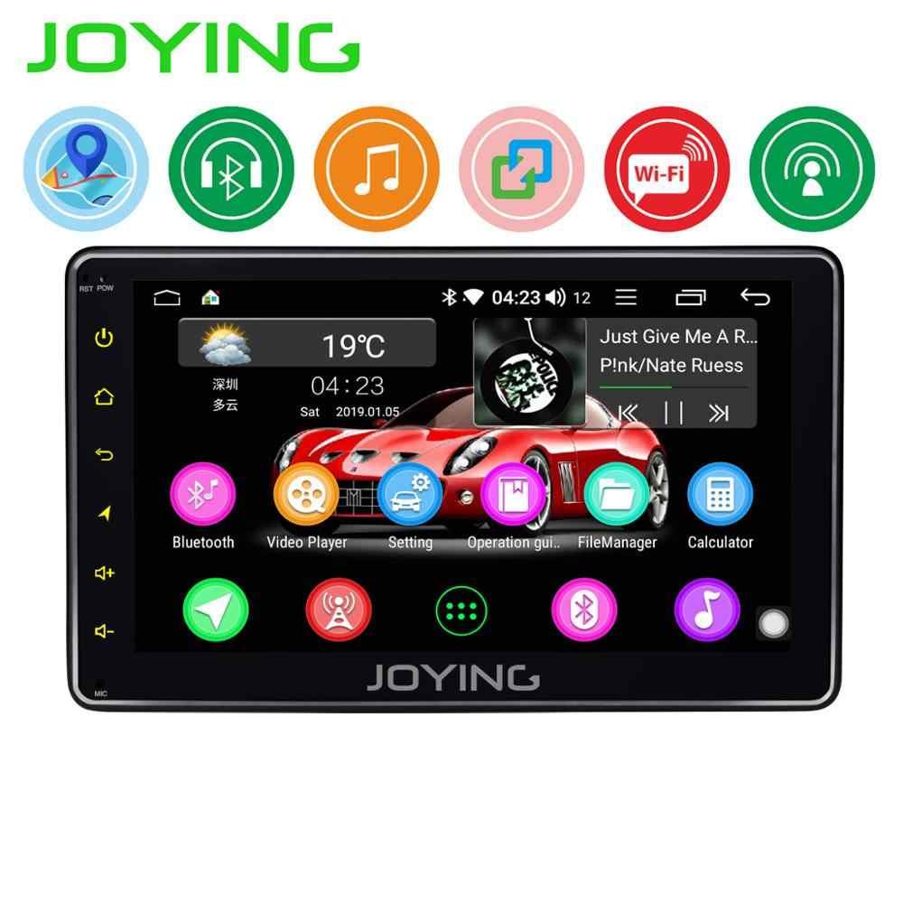 JOYING シングル 1 din 7 インチユニバーサルカーラジオ GPS ナビゲーションアンドロイド 8.1 ラジオ HD ヘッドユニットスクリーンサポート SWC /ミラーリンク/BT