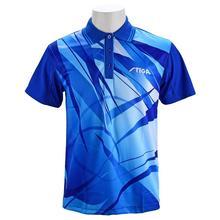 Stiga одежда для настольного тенниса для мужчин и женщин, футболка с короткими рукавами, футболка для пинг-понга, Джерси, спортивные майки