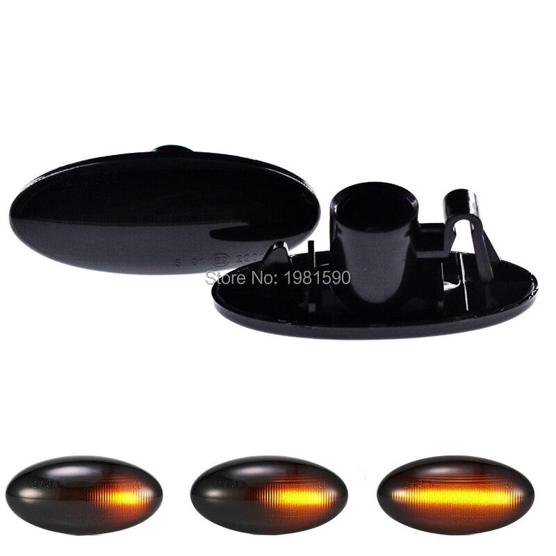 18SMD Amber dynamic LED Turn Signal Light for nissan Cube Juke Leaf Qashqai X-trail side-marker lamps