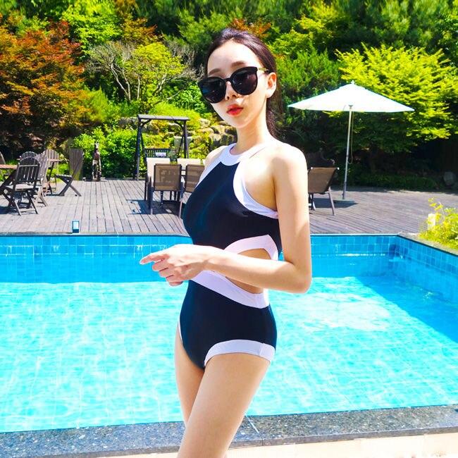 Bikini Set Swimsuit Piece Swimwear Woman Beach High Waist May Female Beach String Closed Bathing Girls  Swimming Suite Brazilian