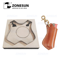 ZONESUN מצית עור חיתוך למות Papercraft נייר אמנות כלי למות חיתוך מכונת Diy מלאכת חותך מצית C