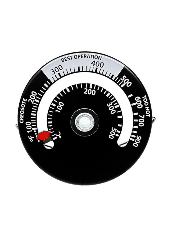 Magnetic Stove Thermometer Fireplace Fan Thermometer With Large Display Fireplace Safe Use Props