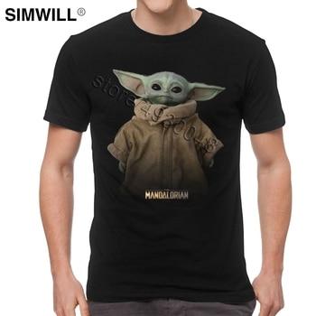Lovely Baby Yoda Mandalorian Men's Star Wars T-Shirt