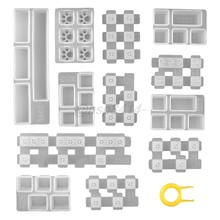 1 conjunto manual diy teclado mecânico tampa chave molde de silicone uv cristal epóxi moldes artesanal artesanato fazendo ferramentas