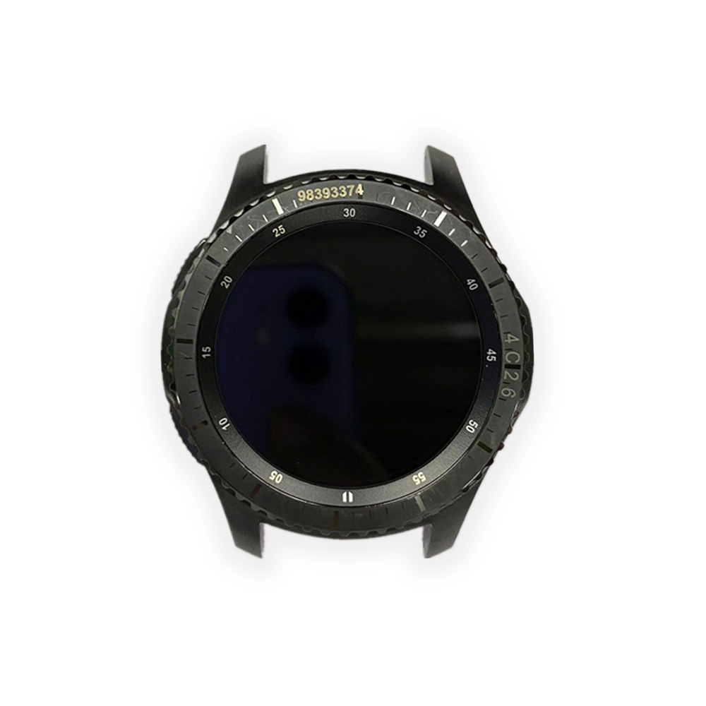 Original Watch LCD Screen Assembly For Samsung Gear S3 SM-R760/SM-R765 Smart Watch With Surface Shell Watch Repair Part