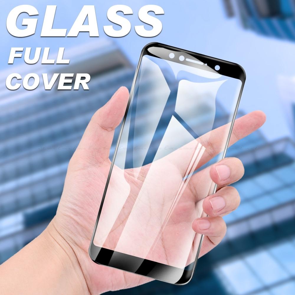 Full Cover Tempered Glass For Asus ZenFone Max Pro Plus Shot M1 M2 ZB634KL ZB633KL ZB631KL ZB602KL Screen Protector Film Glass