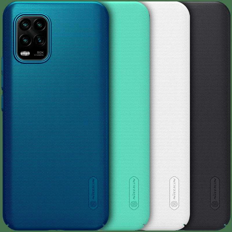 För Xiaomi mi 10 Lite 5G Skydd NILLKIN Hård PC Skridskydd Super - Reservdelar och tillbehör för mobiltelefoner