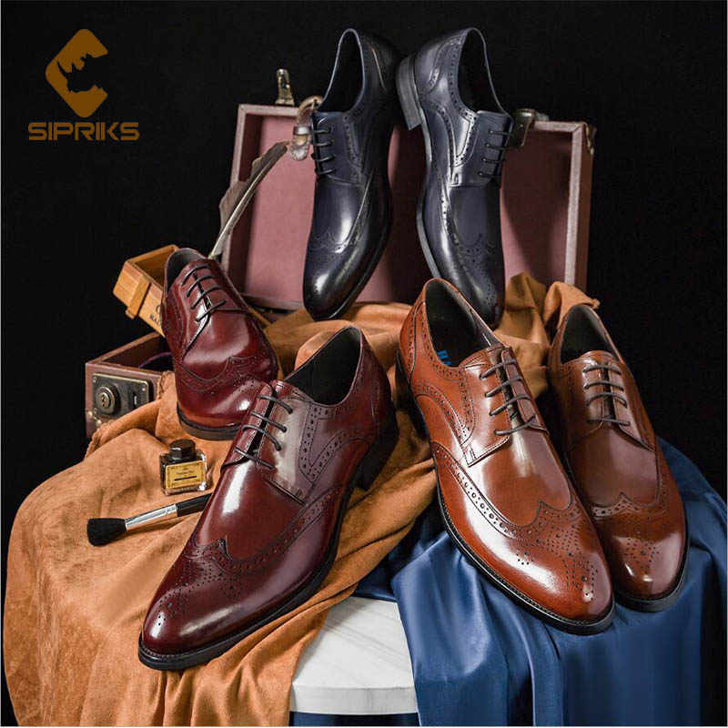 Sipriks 6 Colors Genuine Leather