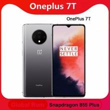 Global Rom Oneplus 7T 8Gb 128G 256G Rom Mobiele Telefoon Snapdragon 855 Plus Octa Core 6.55 ''Scherm 48MP Triple Camera Nfc Cellphon