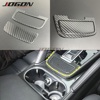 Car Interior Central Console Gear Shift Panel Trim For Porsche Cayenne 2018 2019 2020 2pcs