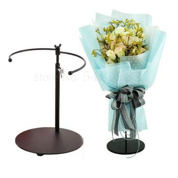 New Stand Stand Artifact Iron Flower Stand Table Stand Flower Stand Multifunctional Torus Bouquet Stand фото