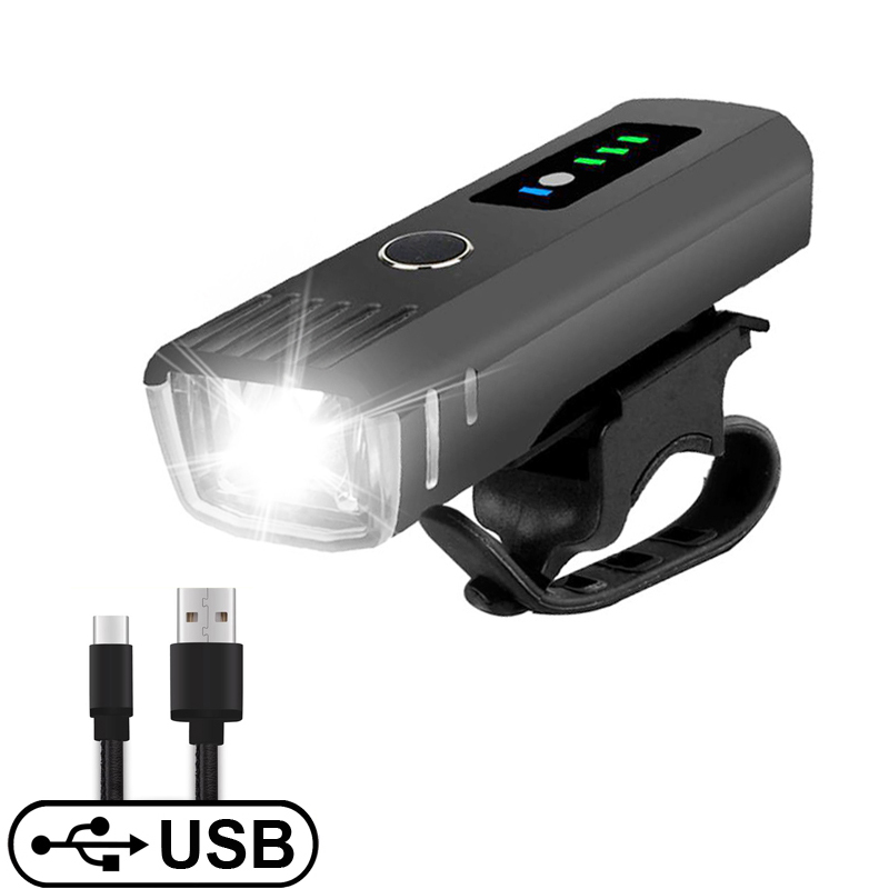Smart Induction Bicycle Front Light USB Rechargeable Lamp 1500mAh Li-Battery Bike Headlight Rainproof LED FlashLight Accessories