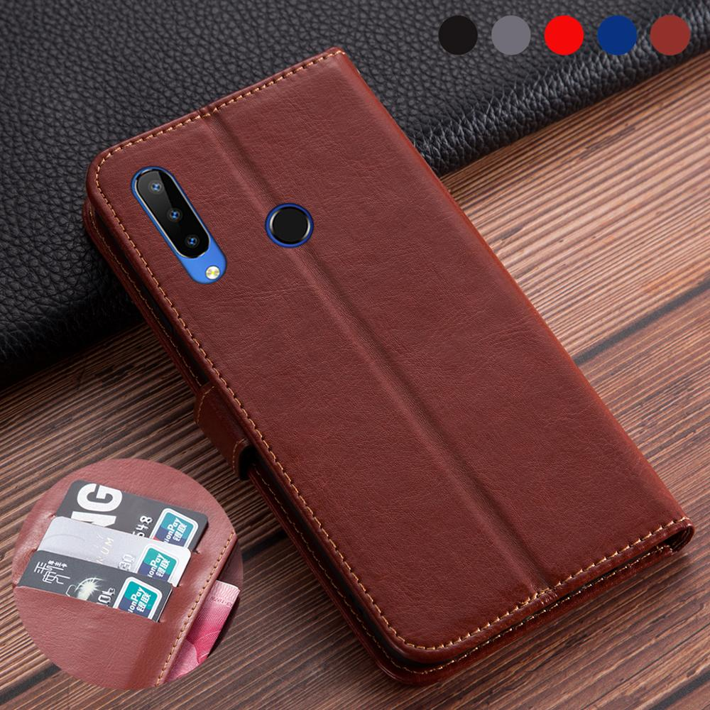 "Business Leather Flip Book Cases For Doogee N20 6.3"" Cover Phone Protective Card Holder Phone Shell Housing Case Doogee N20 N 20"