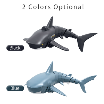 New Mini RC Shark Remote Control Toy Swim Toy Underwater RC Boat Electric Racing Boat Spoof Toy Pool 2