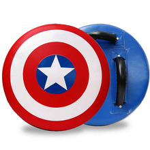 Америка Капитан цель каратэ ноги мишень тхэквондо мишень для ног круг мишень круглый щит удар митенки фокус митенки цель для УДАРОВ НОГАМИ Ch
