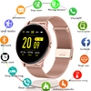 LIGE 2020 New Smart Watch Women Men Heart Rate Blood Pressure Information Remind Sport Multifunctional Waterproof Smartwatch+Box