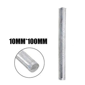 """1 unidad de varillas Zn puras 99.95% barra redonda sólida de Zinc de alta pureza 0,4 """"* 4"""" accesorios duraderos para la galvanoplastia de ánodo"""