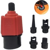 Valve adapter multi-function inflatable SUP accessories air pumps converter for valves kayak inflatable foot pump electric pump