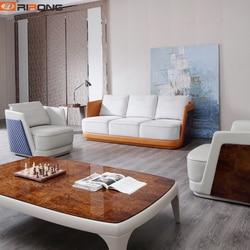 Styl włoski nowoczesny luksusowy nauka w domu salon meble biurowe trzy miejsc siedzących sofa biurowa kanapie w Sofy biurowe od Meble na