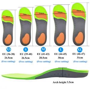 Image 5 - הטוב ביותר קשת רגל אורתופדים נעלי Sole רפידות לנעליים Pad X/O סוג רגל תיקון שטוח רגל קשת תמיכה ספורט נעלי מוסיף
