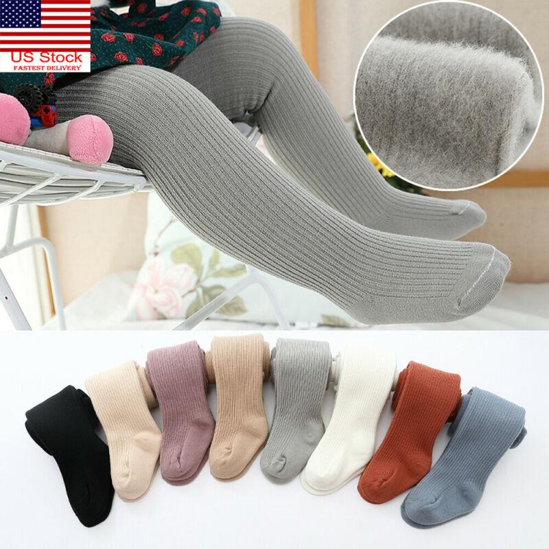 Toddlers Baby Girls Kids Warm Tights Anti-Slip Stockings Pantyhose Pants Socks