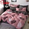 Modern Printed Bedding Set 4 Pcs 4