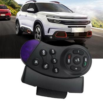 Simple installation Car Audio Car Bluetooth Handsfree Transmitter FM Player MP3 Steering Remote Car Wheel Phone System A4Y9 image