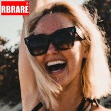 RBRARE Luxury Square Sunglasses Women Design Retro Colorful Transparent Fashion Cat Eye Female Vintage Eyewear UV400