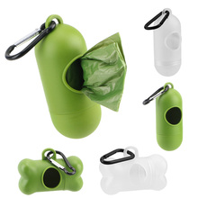 Dispensers Storage-Box Poop-Bag Pet-Waste-Bags Garbage-Holder Outdoor Portable
