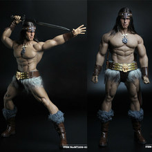 MT2018-02 1/6 Scale Soldier Conan Head Carving Costume Group Ano Edition Model for 12'' M35 Action Figure Body Gifts(China)