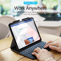 Original DUX DUCIS 4.0 Bluetooth Wireless keyboard Case For Apple iPad Pro 11 Business Smart Flip 360 Full Protection Case Cover