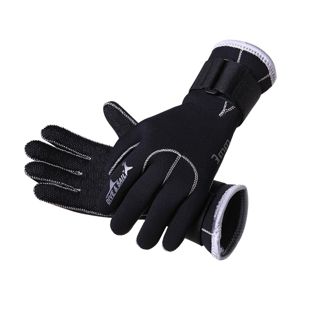 3MM Neoprene Scuba Dive Gloves Swim Gloves Snorkeling Equipment Anti Scratch Keep Warm Wetsuit Material