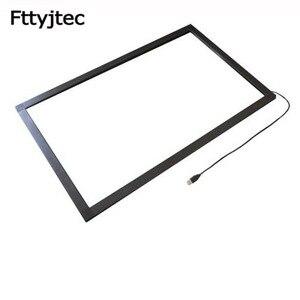 Fttyjtec 40 дюймов IR сенсорная рамка 20 точек usb инфракрасный сенсорный экран панель сенсорный экран Накладка для сенсорного экрана монитора