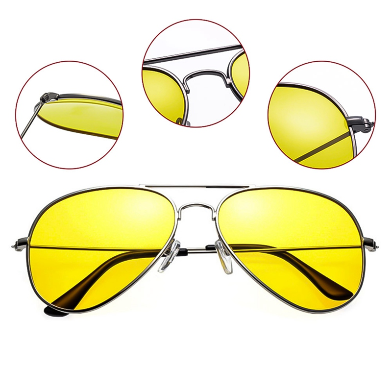 Car Auto Driver Night Vision Anti Glare Polarizer Goggles Dustproof Sunglasses Driving Sun Glasses Eyewear For Men/Women|Driver Goggles|   - AliExpress