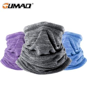 Winter Cationic Fleece Neck Gaiter Cover Face Warmer Mask Thermal Head Tactical Ski Cycling Sport Bandana Tube Scarf Men Women