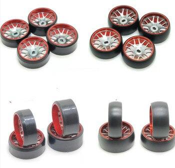 Комаров автомобиля металлическая втулка дрейф шины MINI-Q HGD1 MINI-D MINI-Z WL игрушки шины для легковых автомобилей Высокое качество Бесплатная дост...