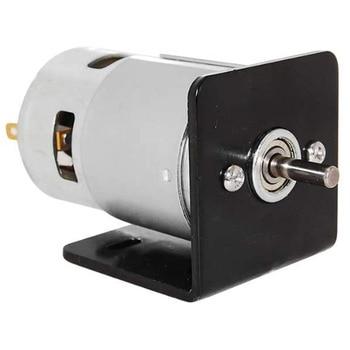 Motor eléctrico 775 Motor DC con soporte de montaje de asiento cepillo pequeño DC